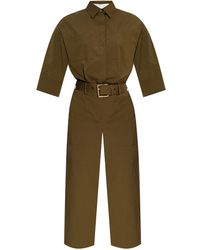 Michael Kors Jumpsuit With Pockets - Groen