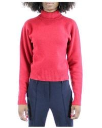 Sportmax Roll-up sweater - Rosso