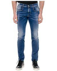 Replay Tejano Pantalones - Blauw