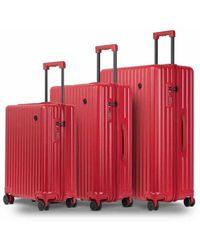 Conwood Vector Goji Berry Suitcase Set - Rood