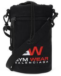 Balenciaga 'weekend' Shoulder Bag - Zwart