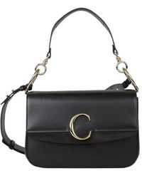 Chloé Bag With Double Carry - Zwart