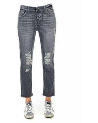 7 For All Mankind Jeans Jsdsu790ss 02 - Grijs