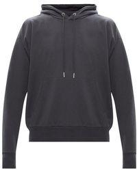 DIESEL Hooded sweatshirt with logo - Grigio