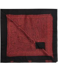 Etro Patterned Scarf - Rood