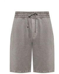 AllSaints - 'pierce' Sweat Shorts - Lyst