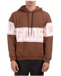 Gcds Men's Hoodie Sweatshirt Sweat Logo - Bruin