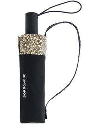Borbonese Umbrella - Zwart