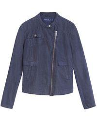 Sandwich Jacket 25001545 - Blauw