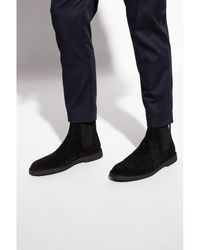 PS by Paul Smith Jim suede ankle boots Negro