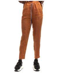 Forte Forte Pants 7234 Cannella - Oranje