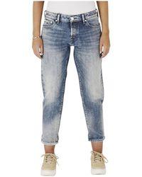 Denham Monroe Ob Jeans- 02190711012-ob - Blauw