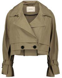 Dorothee Schumacher - Cropped Safari Jacket - Lyst