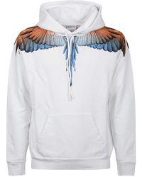 Marcelo Burlon Hoodie Wings Regular - Wit