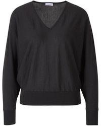 Santa Eulalia Bat Sleeve Sweater - Gris
