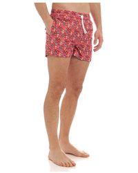 Kiton Swimwear Ucom2Cx08S1 Rojo