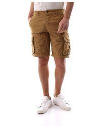 40weft Nick 6013 Shorts - Braun