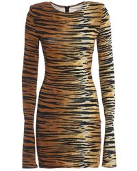 Alexandre Vauthier Animal Print Dress - Meerkleurig