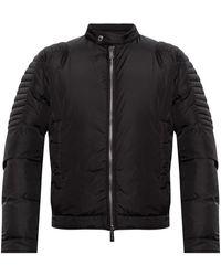 DSquared² Jacket With Logo - Zwart