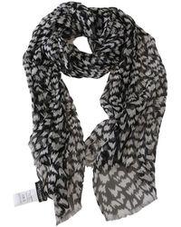 Dolce & Gabbana Gevormde Druk Wrap Shawl Sjaal - Zwart