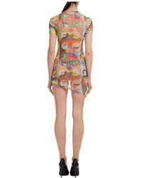 Gcds Mini dress Amarillo - Multicolor
