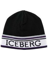 Iceberg Hat - Zwart