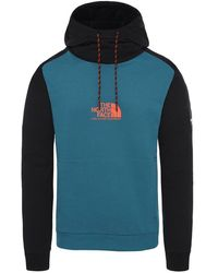 The North Face Felpa Fine Alpine - Blauw