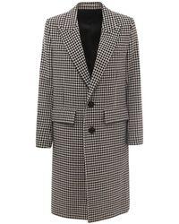 AMI Coat a21fm 004217 - Negro
