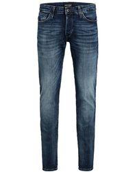 Jack & Jones Slim Fit Jeans Glenn Con 057 50sps Noos - Blauw