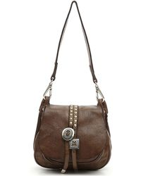 Campomaggi Monocall Small Bag With Flap - Bruin