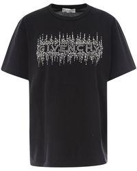 Givenchy T-shirt Bw707z3z4r - Zwart