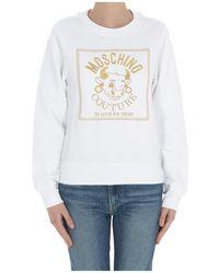 Moschino Sweatshirt - Wit