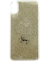 KENZO Porta Iphone X/xs Silicone Trasparente - Naturel