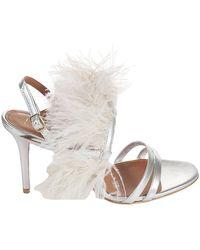 Malone Souliers Sandals - Grijs