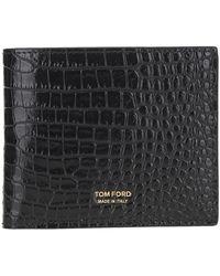 Tom Ford Wallet Y0228tlcl168 - Zwart