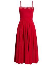 RED Valentino - Sleeveless Dress - Lyst