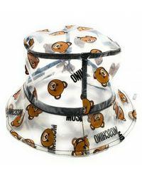Moschino Cappello Pu Bear C21mo03 - Wit