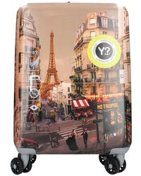 Y Not? Prc1001f1 Small Carry On Paris-boheme - Bruin