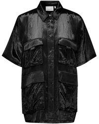 Gestuz Shirt - Nero
