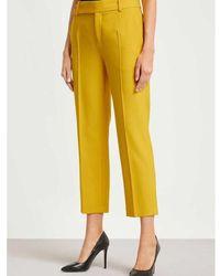 DRYKORN - Broek begin geel trousers Amarillo - Lyst