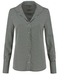 Fifth House Rocket Blouse Fh61012102-7813 - Blauw