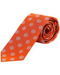 Kiton Tie - Oranje