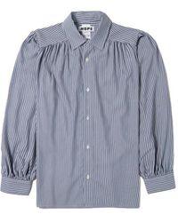 Hope Lush Shirt Stripe - Blauw