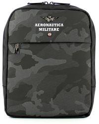 Aeronautica Militare Camouflage Bag - Grijs