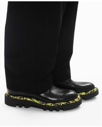 Givenchy Leather combat boots Negro