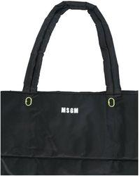 MSGM Shopper Bag - Zwart