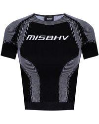 MISBHV Sport Active top - Schwarz