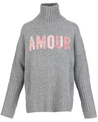 Zadig & Voltaire Alma Amour Sweater - Grijs