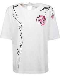 Diadora T-shirt - Wit