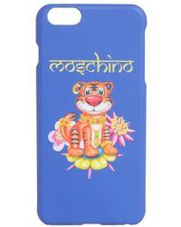 Moschino Iphone 6 - Blauw